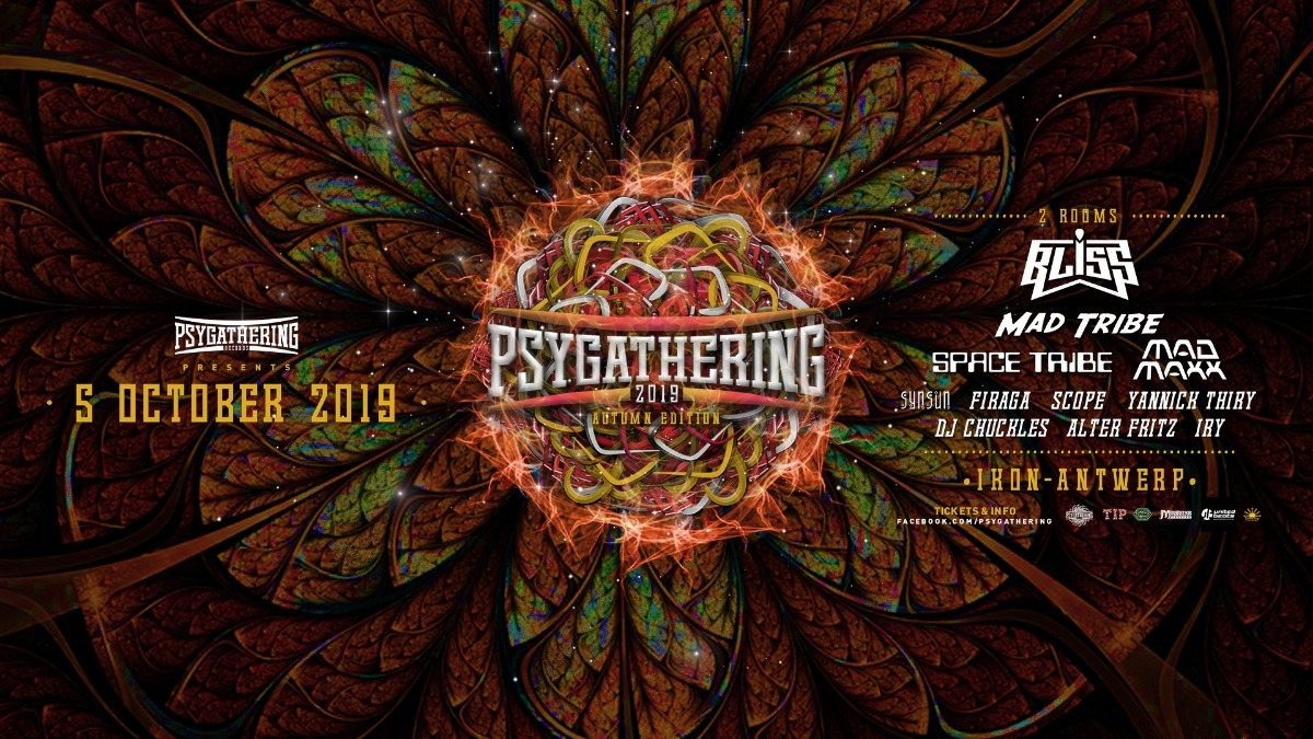 Psygathering Autumn edition 5 Oct '19, 23:00