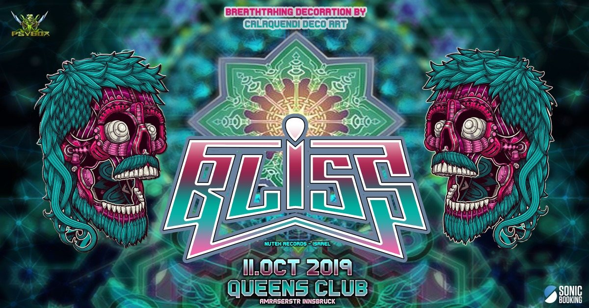 Psybox pres. BLISS *live 11 Oct '19, 22:00