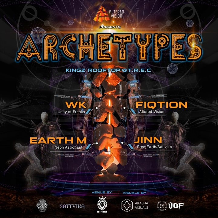 Altered Vision pres: Archetypes 12 Oct '19, 22:00