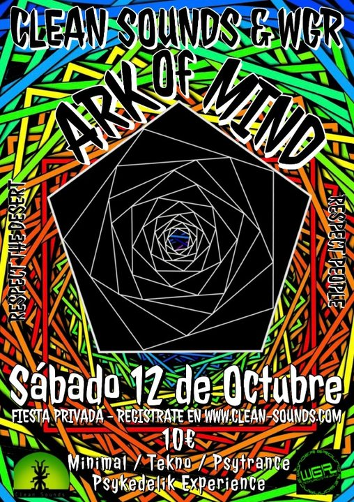 Ark of Mind! 12 Oct '19, 16:00