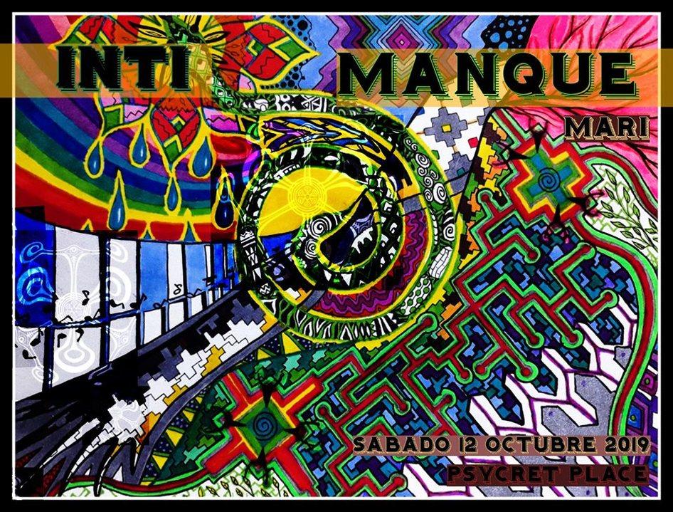 Party Flyer INTI MANQUE MARI 12 Oct '19, 10:00