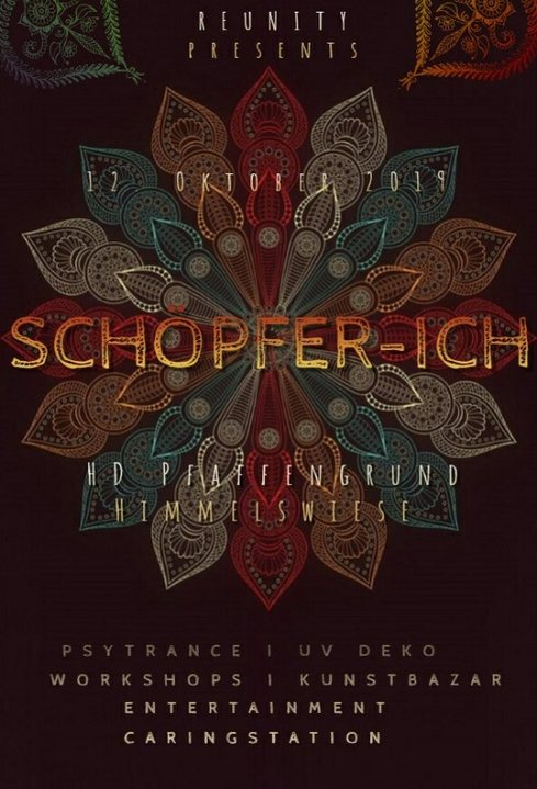 Party Flyer SchöpferIch 12 Oct '19, 20:00