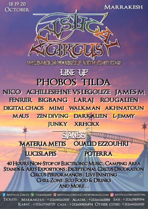 Mystical Circus 18 Oct '19, 16:00