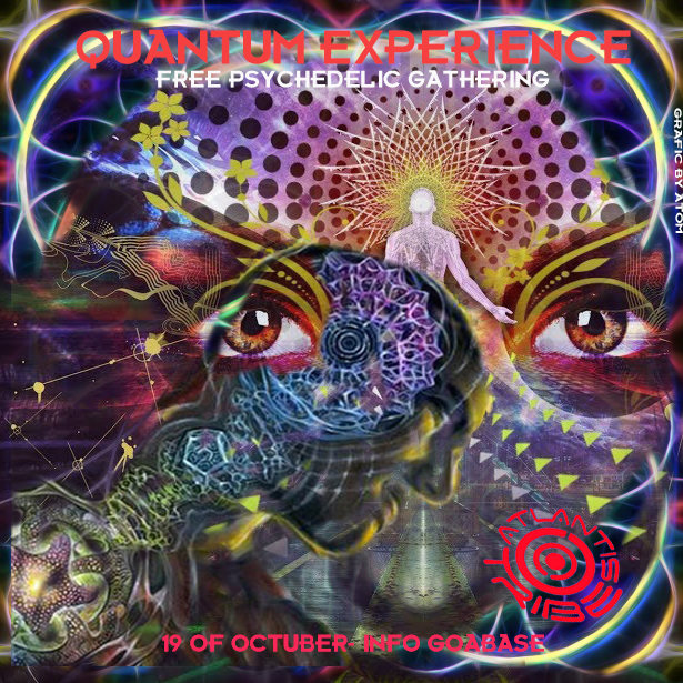 Party Flyer QUANTUM EXPERIENCE 19 Oct '19, 22:00