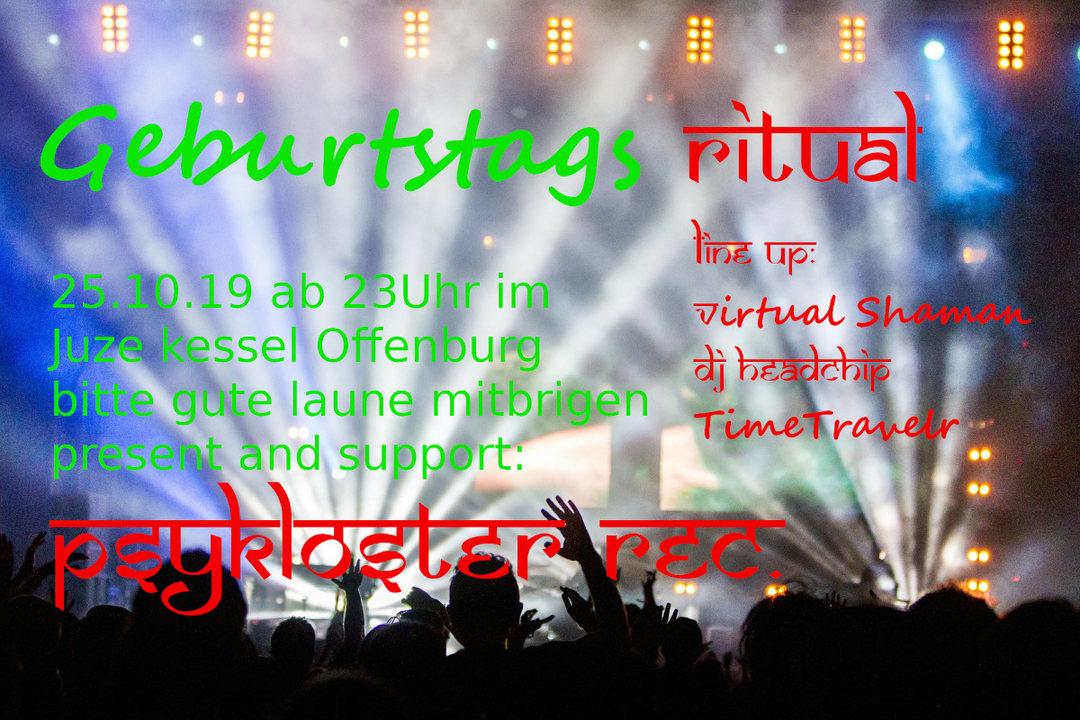 Party Flyer Geburtstags Ritual 25 Oct '19, 23:00