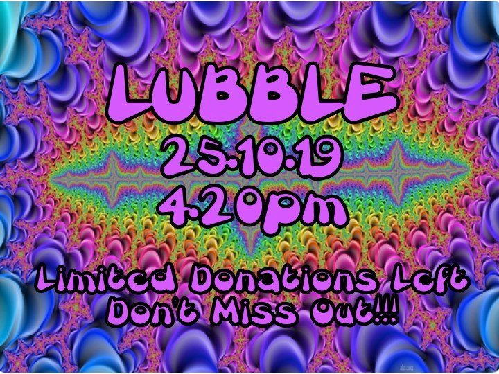 Party Flyer Lubble Oct 2019 25 Oct '19, 16:00