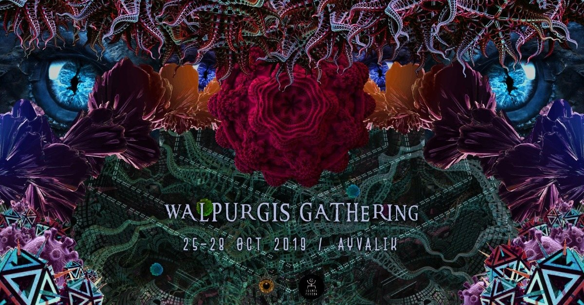 Magic Halloween Vol II ; WALPURGIS GATHERİNG 25 Oct '19, 17:30