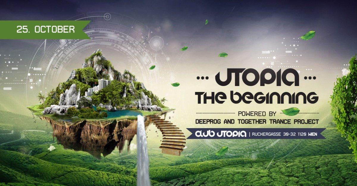 Party Flyer UTOPIA - The Beginning 25 Oct '19, 22:00