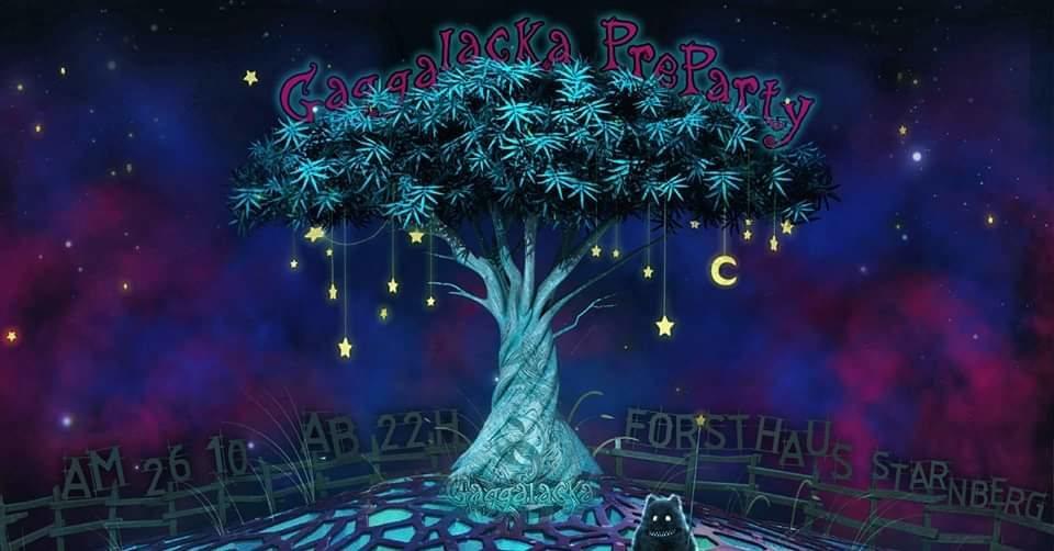 Party Flyer Gaggalacka PreParty 26 Oct '19, 22:00