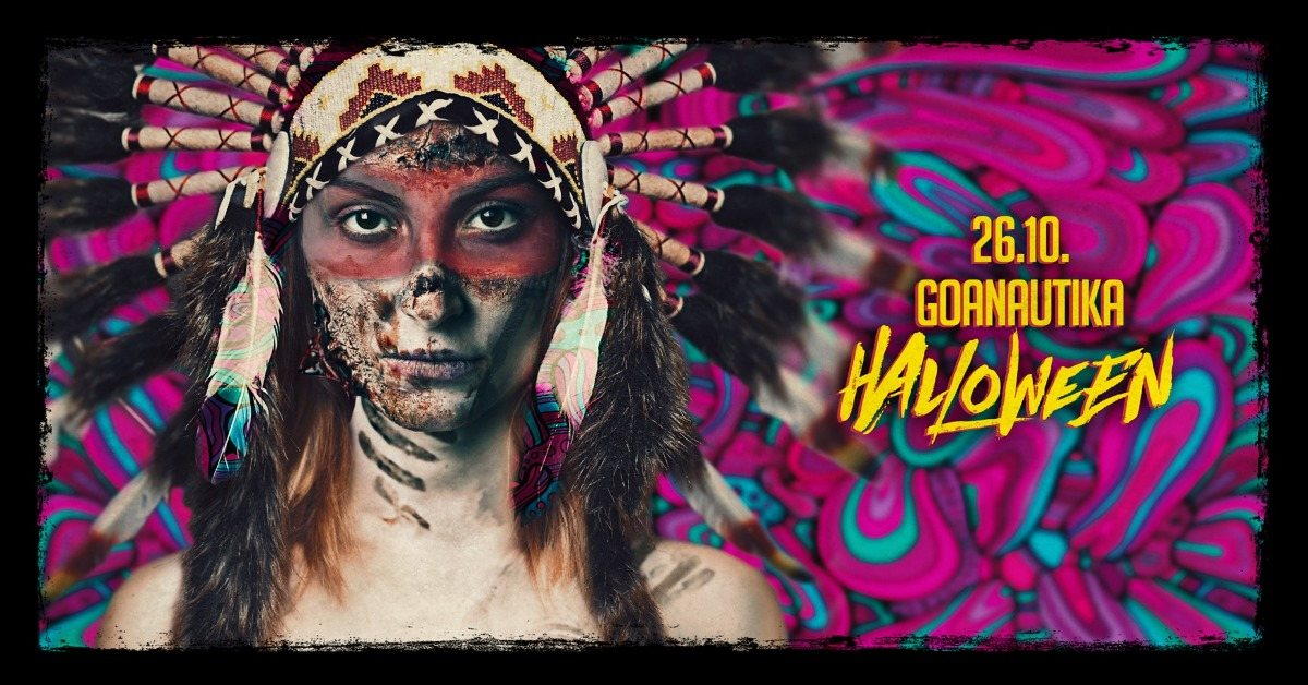 Party Flyer ॐGoanautika Halloween Specialॐ Phaxe,Klopfgeister,Crazy Astronaut 26 Oct '19, 22:00