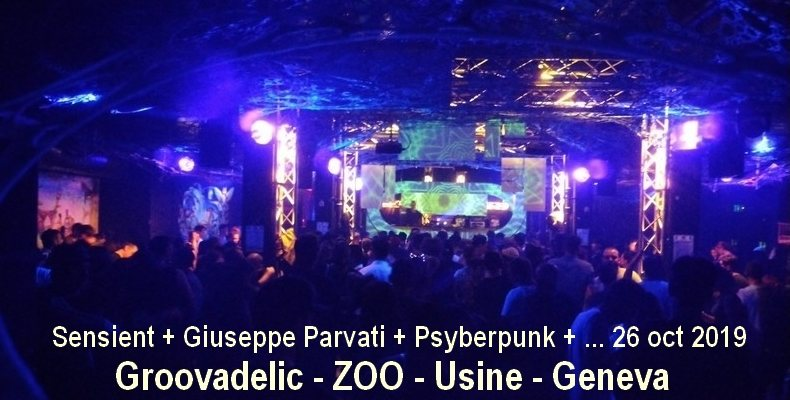GROOVADELIC 26 Oct '19, 22:00