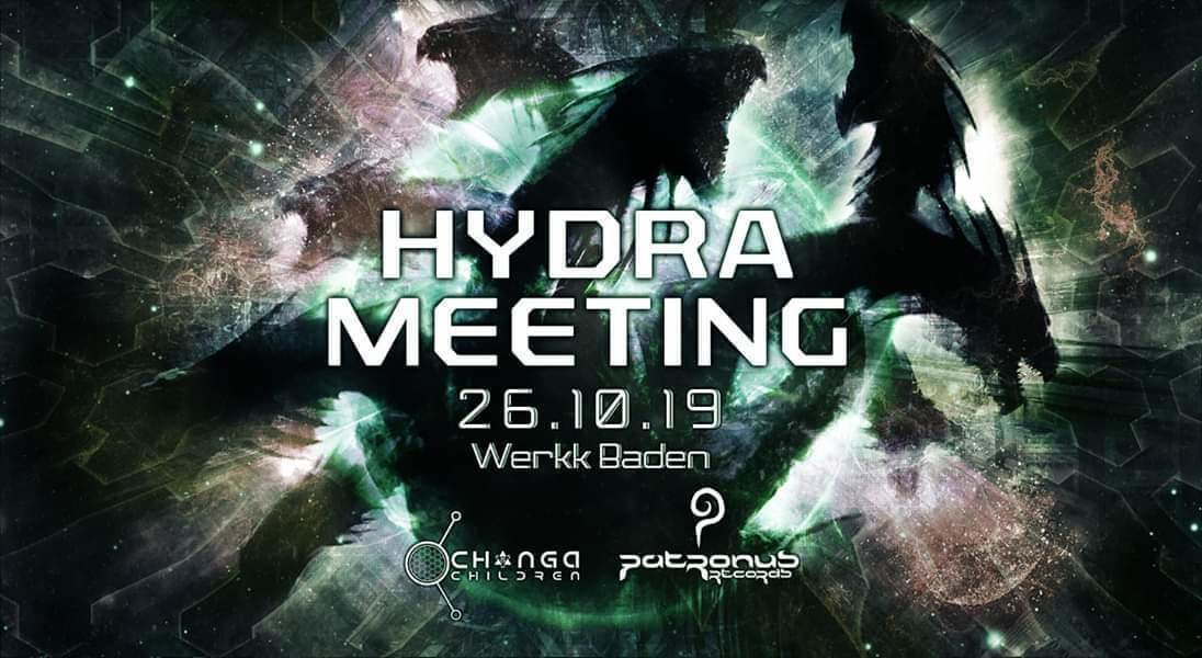 Party Flyer Hydra Meeting 26 Oct '19, 14:00