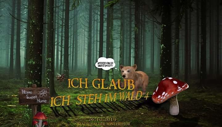 Party Flyer Ich glaub ich steh im Wald 4 /Section303/ShouldB3Banned 26 Oct '19, 23:00