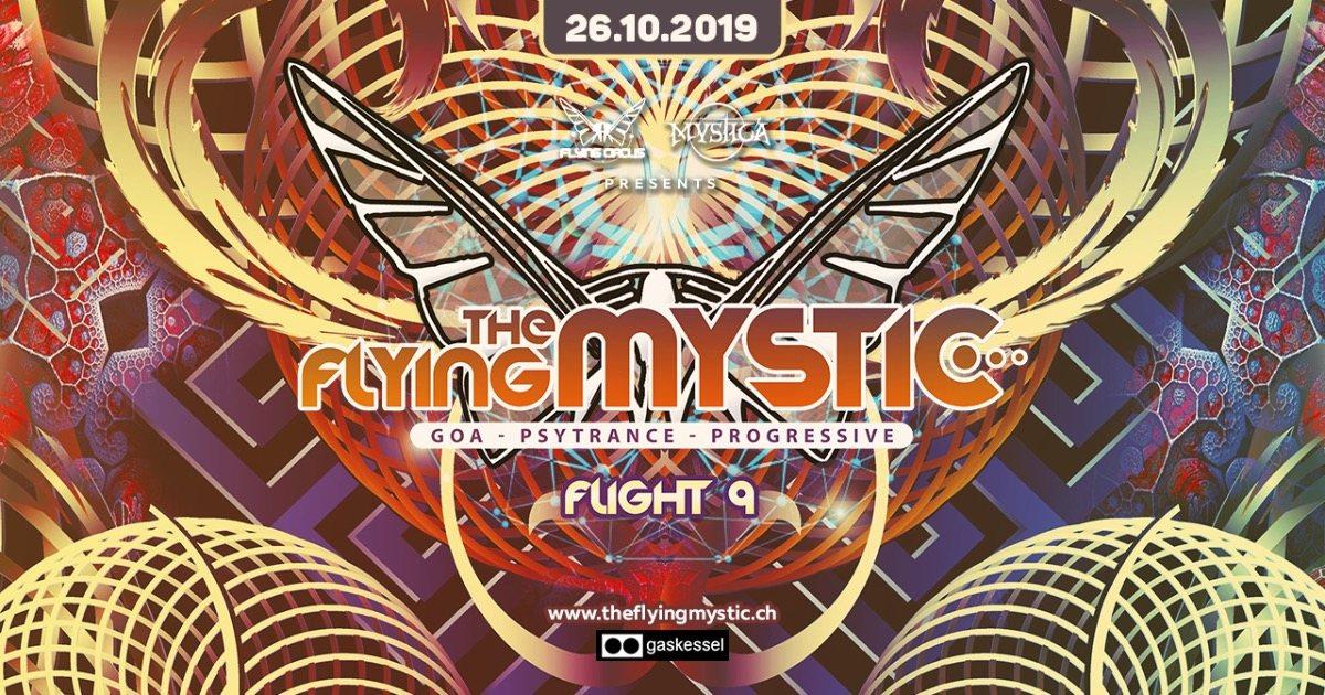 THE FLYING MYSTIC - Flight 9 - 26 Oct '19, 23:00