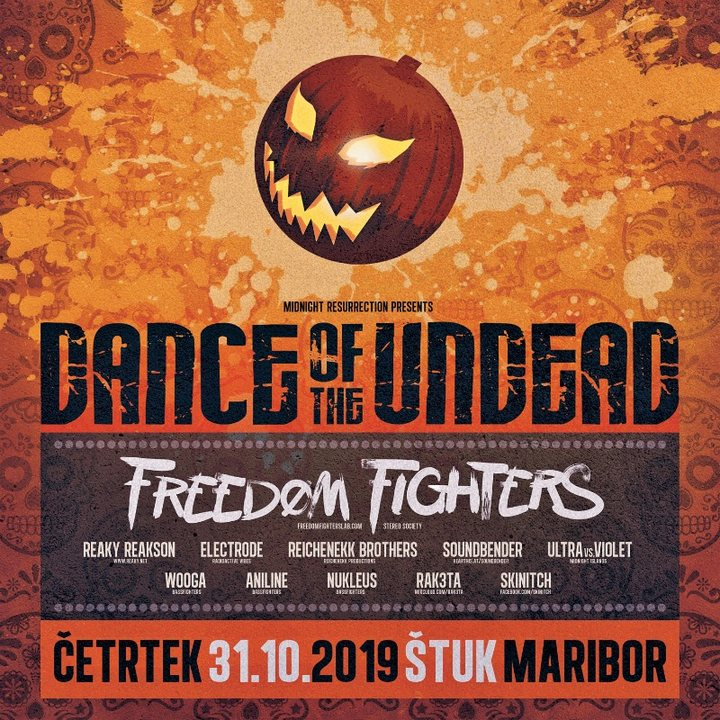 Party Flyer Dance Of The Undead 2019 31 Oct '19, 22:00