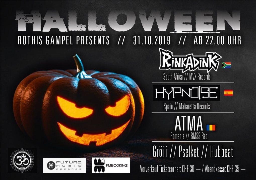 Party Flyer Halloween 31 Oct '19, 22:00