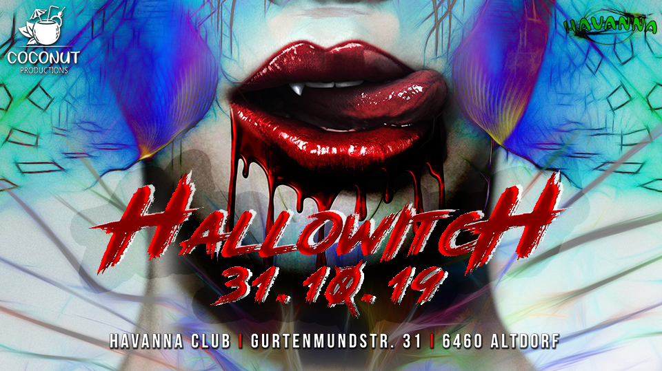 Party Flyer Hallowitch 31 Oct '19, 22:00