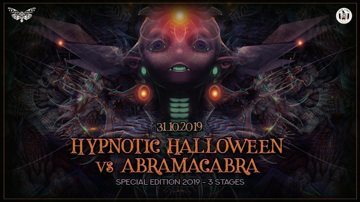 Hypnotic Halloween vs Abramacabra (Special Edition 2019) 3 stages 31 Oct '19, 22:00