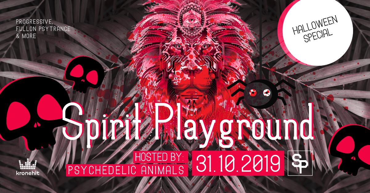 ✷ Spirit Playground ✷ Halloween Special 31 Oct '19, 22:00