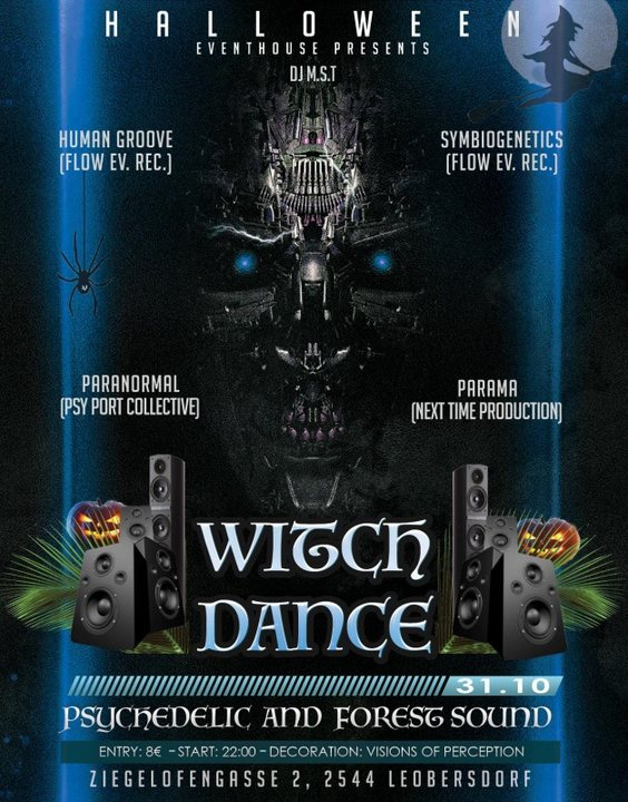 Witch Dance 31 Oct '19, 22:00