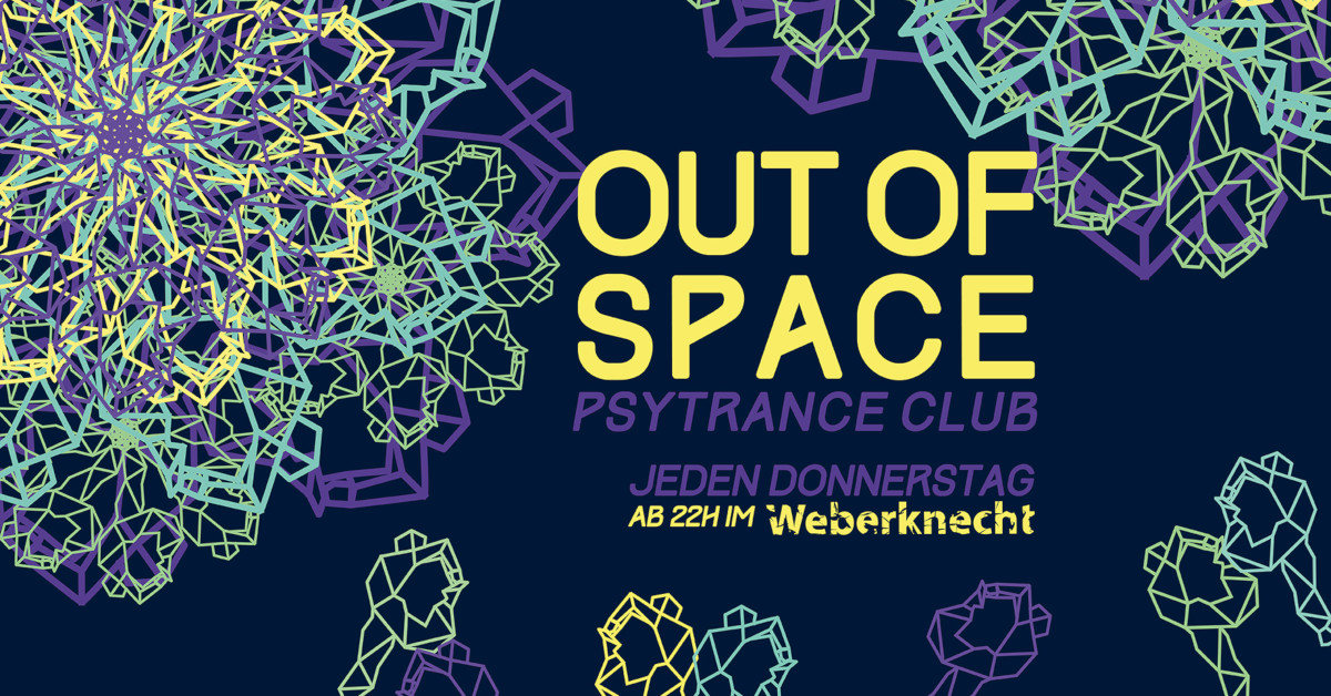 Party Flyer OUT of SPACE 7 Nov '19, 22:00