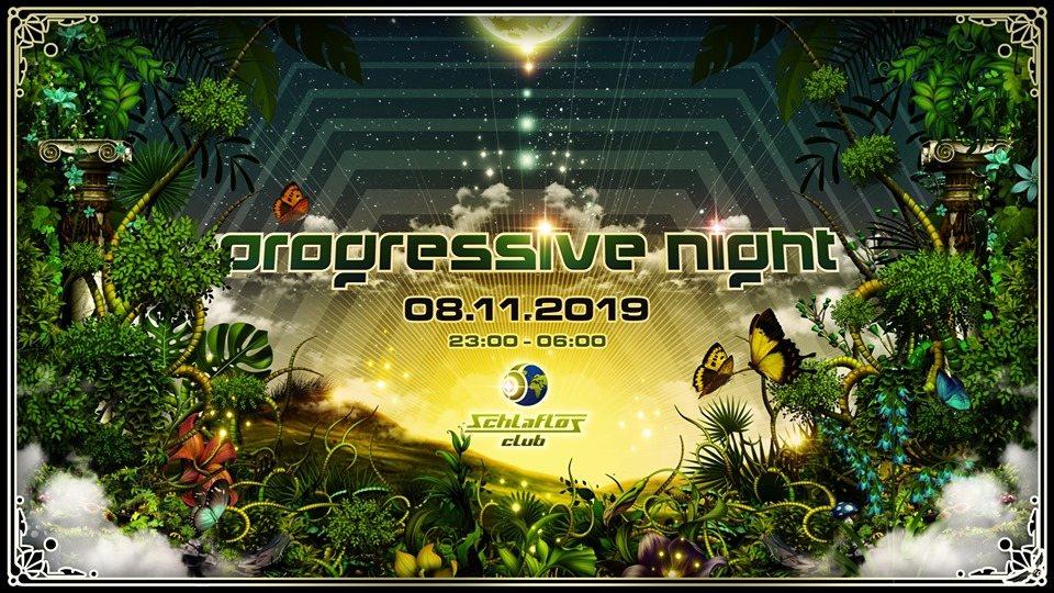 Party Flyer Progressive Night mit Ranji & Querox 8 Nov '19, 23:00