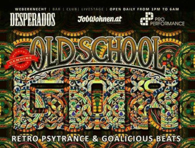 Party Flyer Oldschool Goa Party 9 Nov '19, 22:00