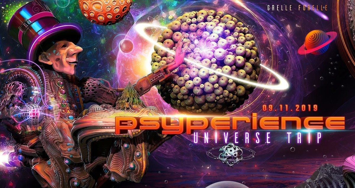 PSYPERIENCE - Universe Trip w/ Oxidaksi & MiloWatt 9 Nov '19, 23:00