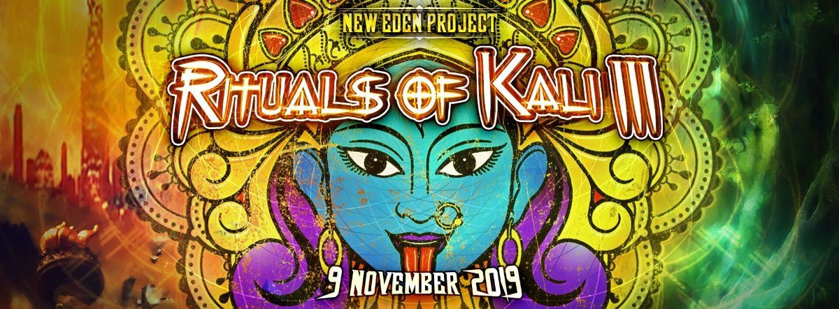 Party Flyer Rituals of Kali #3 9 Nov '19, 23:00