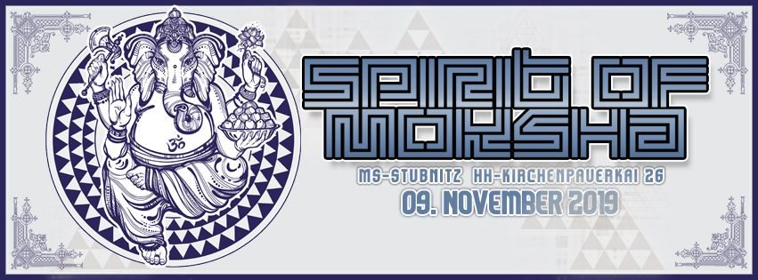 Spirit of Moksha 9 Nov '19, 23:00