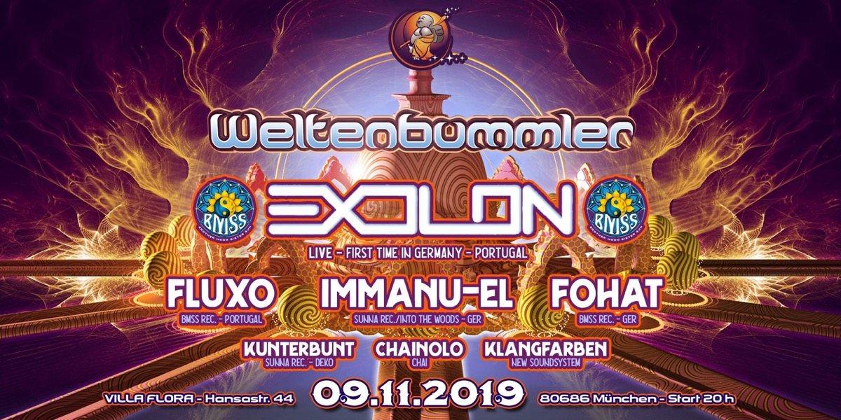 Party Flyer Weltenbummler w/ Save the last dance 9 Nov '19, 22:00