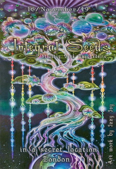 Party Flyer Integral Seeds 16 Nov '19, 22:00