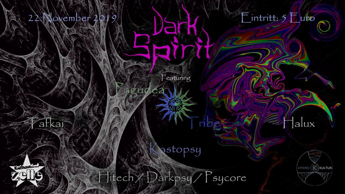 Party Flyer Dark Spirit 22 Nov '19, 23:00
