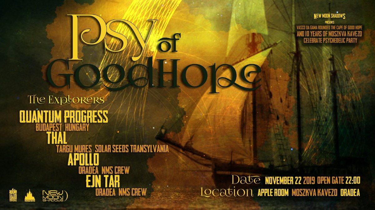 Psy of Good Hope 22 Nov '19, 22:00