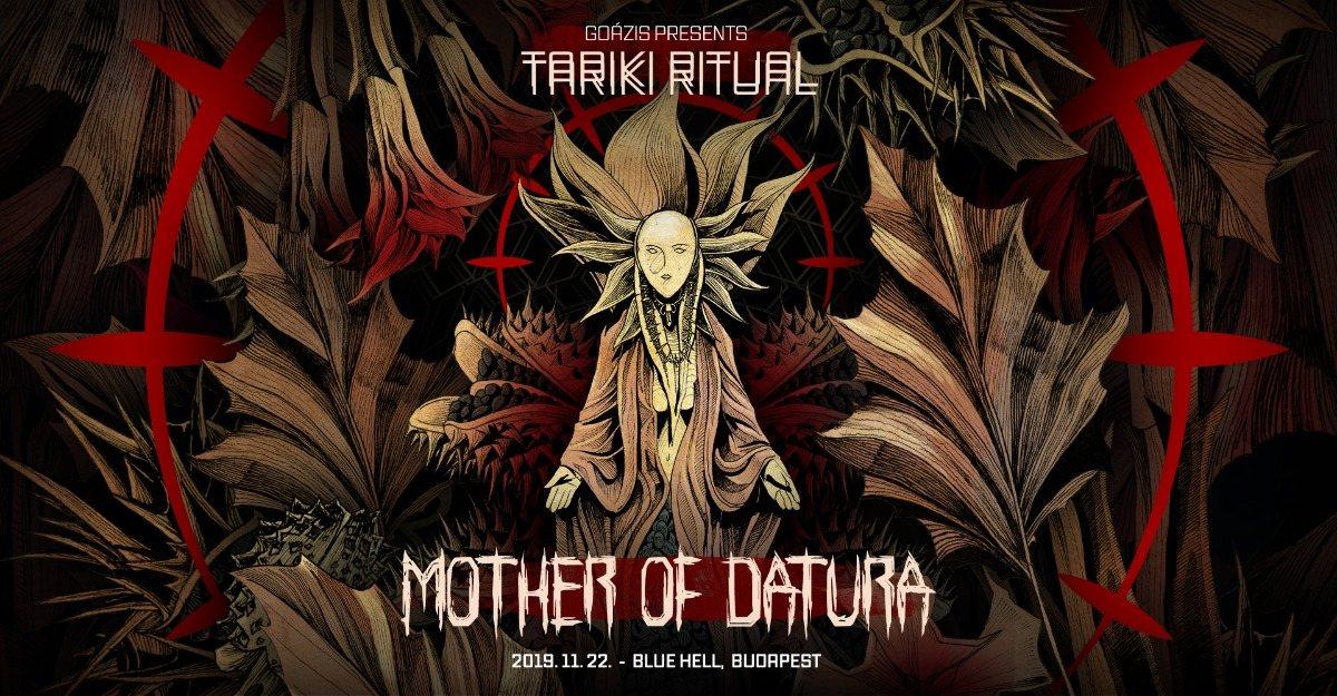 Party Flyer Tariki Ritual vol. 4 w/ Mother of Datura (SWE) 22 Nov '19, 21:00