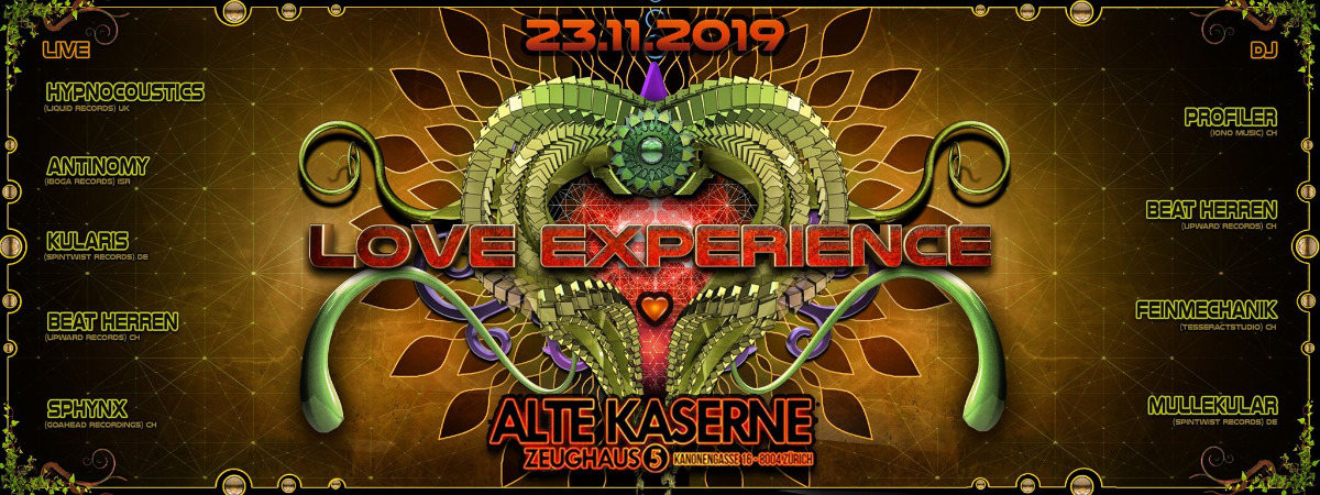 Party Flyer ☆☆☆☆☆ 5 years LOVE EXPERIENCE ☆☆☆☆☆ 23 Nov '19, 22:30