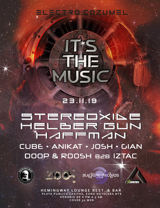 Party Flyer IT'S the MUSIC 23 Nov '19, 18:00