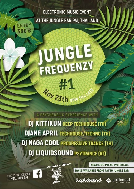 Party Flyer Jungle Frequenzy #1 23 Nov '19, 20:00