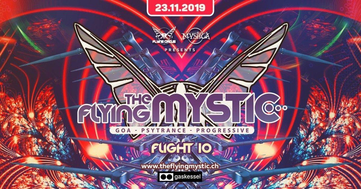 THE FLYING MYSTIC - Flight 10 - 23 Nov '19, 22:00