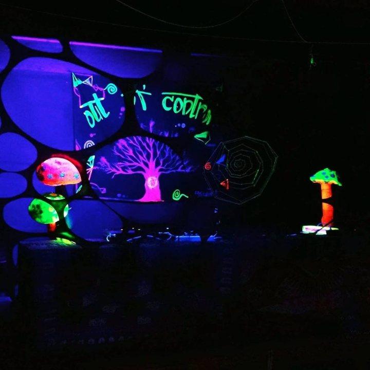 Party Flyer AntifAliens Vol. 2 - Dark Psychedelic Party 29 Nov '19, 23:00
