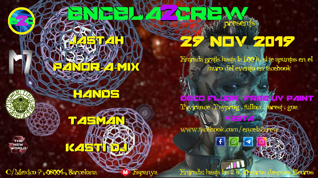 ENCELA2CREW PRESENTS: 29 Nov '19, 23:30
