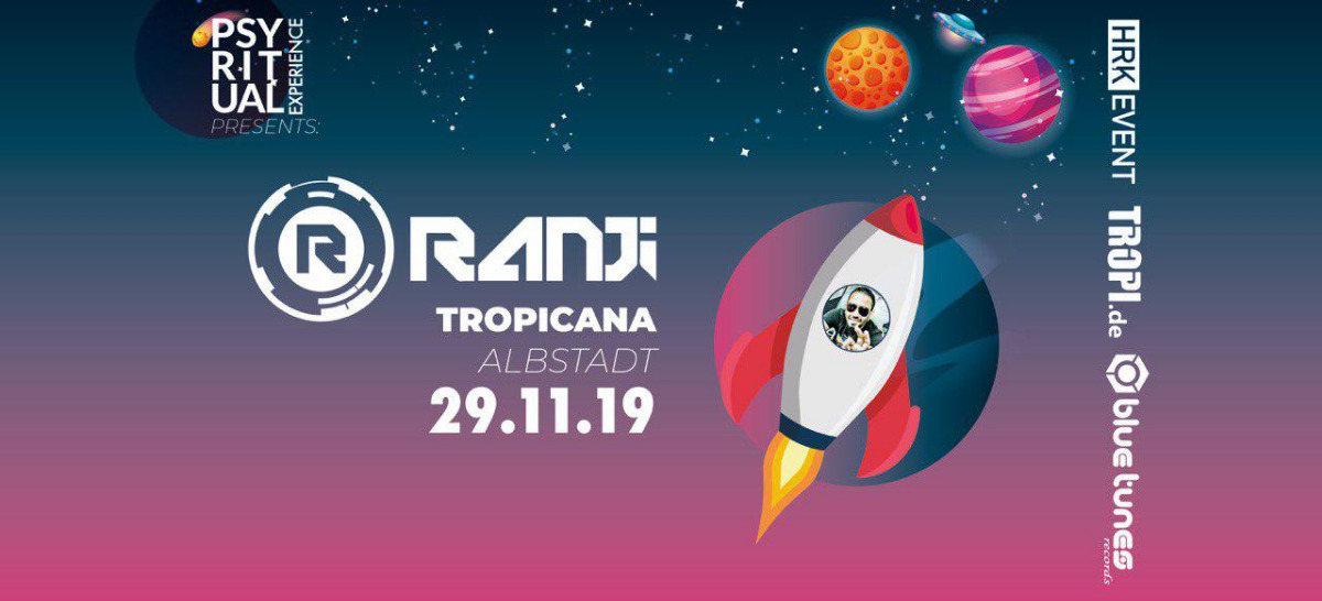 Party Flyer PsyRitual Experience pres. Ranji (live) 29 Nov '19, 22:00