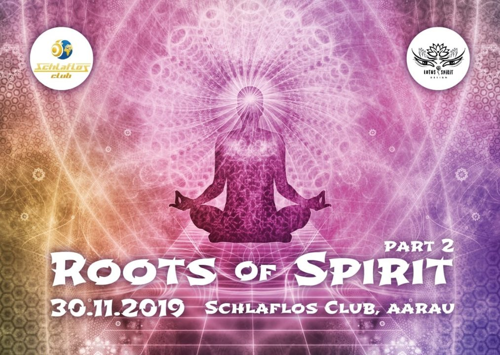 Party Flyer Roots Of Spirit part 2 30 Nov '19, 21:00