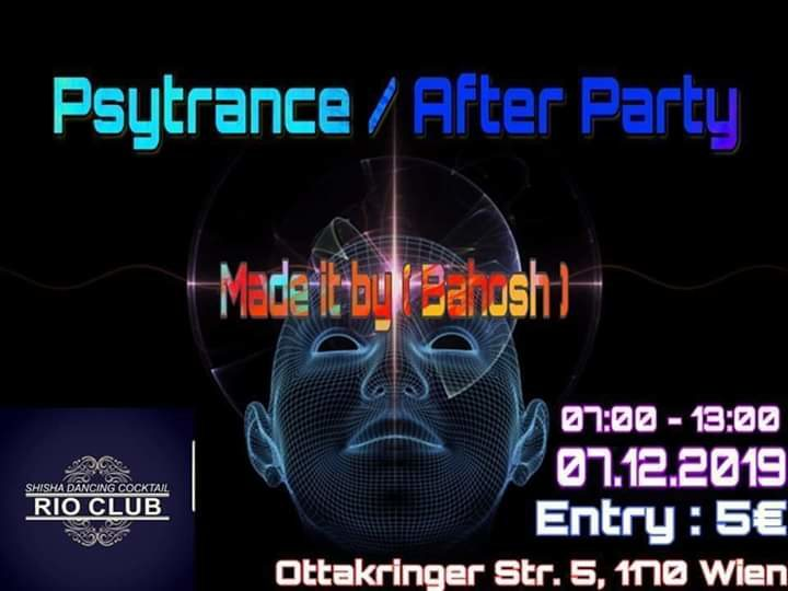 Cosmic Afterparty 7 Dec '19, 07:00