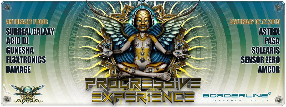 Party Flyer Progressive Experience meets Agora with Astrix 7 Dec '19, 23:00