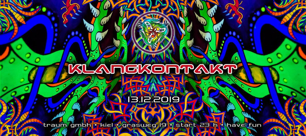 Party Flyer Klangkontakt 2019 13 Dec '19, 23:00