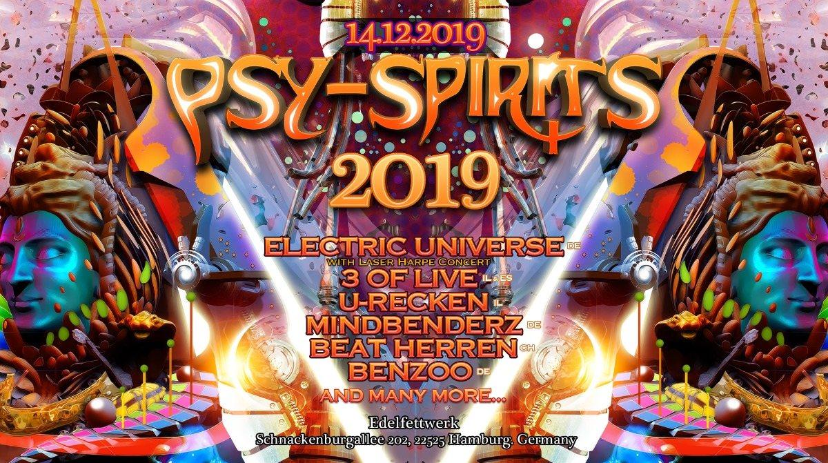 Psy-Spirits 2019 14 Dec '19, 22:00