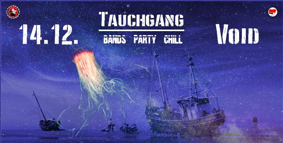 Party Flyer TAUCHGANG 14 Dec '19, 22:00