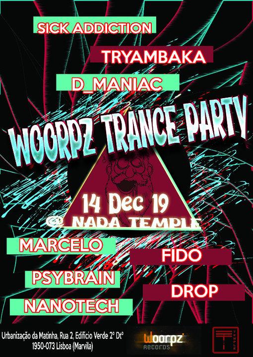 Woorpz Trance Party 14 Dec '19, 23:30