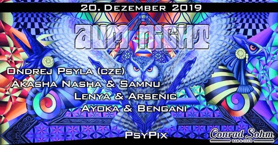 Party Flyer ✮ ✮ AUM NIGHT - Xmas Special ✮ ✮ 20 Dec '19, 22:00